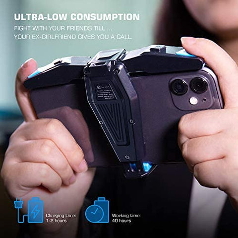 Mobile Game Controller F4 Falcon, Plug and Play Gaming Trigger For Pubg - hobbyola