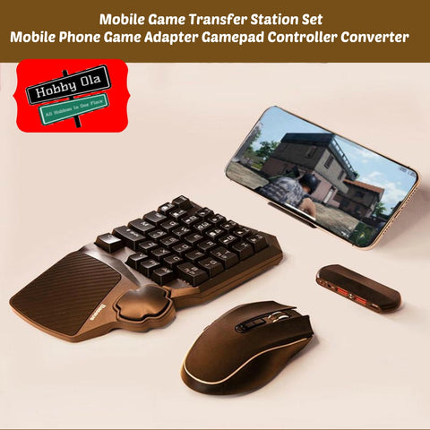 Mobile Game Transfer Station Set Compatible w/Android Ios - hobbyola