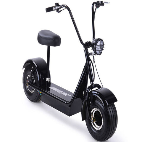 Fat Tire Scooter Big Wheel MotoTec FatBoy 48v 500w Electric Scooter - hobbyola