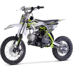 MotoTec X2 110cc 4-Stroke Gas Dirt Bike Green - hobbyola