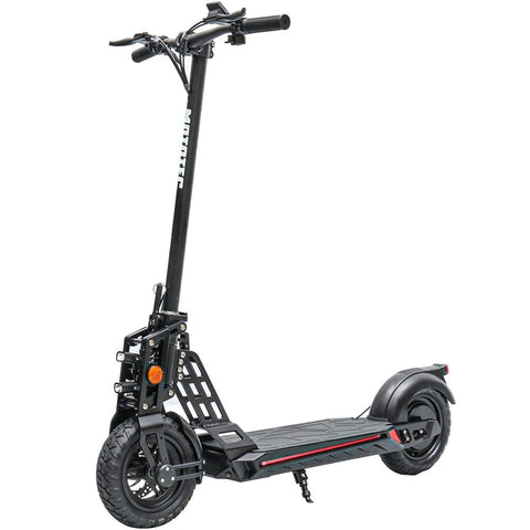 MotoTec Free Ride 48v 500w Lithium Electric Scooter Black - hobbyola