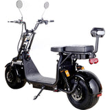 MotoTec Knockout 60v 2000w Lithium Electric Scooter - Black - hobbyola