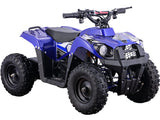 MotoTec 36v 500w ATV Monster v6 For Kids Mini Quad ATV Dirt Motor Bike - hobbyola