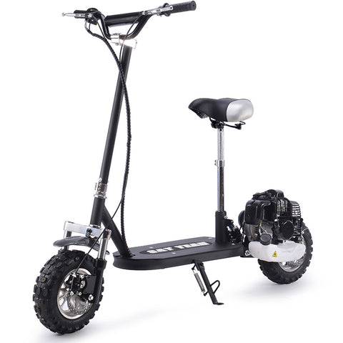 Stop And Shop Say Yeah 49cc Gas Scooter Black - hobbyola