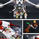 *New* The Republic Gunship Set Fitlegoings Star Wars Building Blocks Bricks - hobbyola