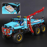 Best New Custom Technic 6X6 All Terrain Tow Truck Compitible 42070 + Instruction - hobbyola