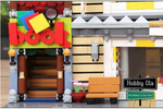 Hobby Ola 5491pcs The Toys and Bookstore Set Building Block Bricks Toy Model - hobbyola
