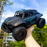 Car Toys 1:12 Scale 2.4G RWD RC Car Off-Road Short Course Vehicles RTR Model (Black) - hobbyola