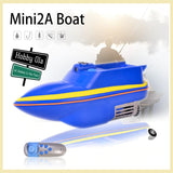 RC Fishing Boat Boatman Mini 2A 2.4G Support Lure Fishing Bait Finder - hobbyola
