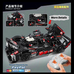 New Building Block Remote Control 23011 Audi Racing Car R18 Brick Set Funny Games - hobbyola