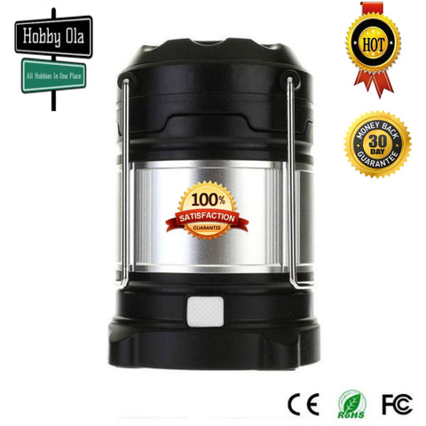 Ultimate Rechargeable LED Lantern and 5200mAh Powerbank 4 Light Modes Dual Power Camping Hiking - hobbyola