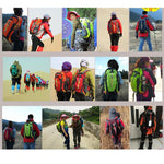 40L Outdoor Unisex Backpack Camping Bag Waterproof Travel Climbing Trekking Hiking Backpacks - hobbyola