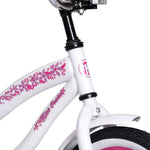 Cruiser Bike with Training Wheels 12/14/16 Inch for Ages 2-6 Years Old Girls & Boys - hobbyola