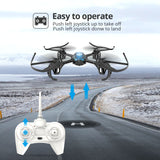RC Mini Quadcopter HS170 Headless Mode 2.4Ghz 6 Axis Gyro Funny Games - hobbyola