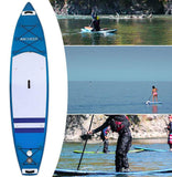 "Inflatable Surfboard 11'*32""*6 Stand Up Paddle Board ISUP Surfing Hand Pump - hobbyola"