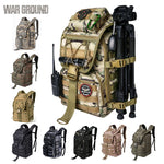 36L Travel Backpack Camouflage Rucksack Multi-Function Military Backpacks Molle Bag - hobbyola