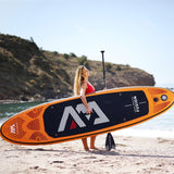 AQUA MARINA 315*75*15cm Inflatable Surfboard FUSION ISUP Stand Up Paddle Surfing Board - hobbyola