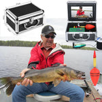 Fish Finder Underwater 7'' HD 1080P DVR Fishing Camera HD 1280*720 Screen Double Lamp - hobbyola