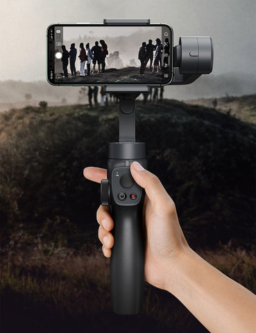3-Axis Handheld Gimbal Stabilizer Bluetooth Selfie Stick Outdoor Holder - hobbyola
