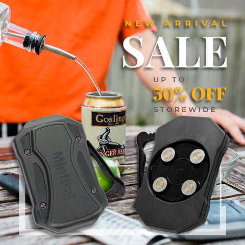 Universal Topless Can Opener Ez-Drink Opener Bottle Opener The Easiest Can Opener - hobbyola