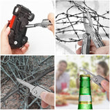 Outdoor Camping Equipment All In One Multitool Multi Function Tool Kit Camping Backpacking - hobbyola