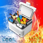 Hobby Ola 12L Capacity Portable Cooling And Warming Refrigerator Car Camping Cooler - hobbyola