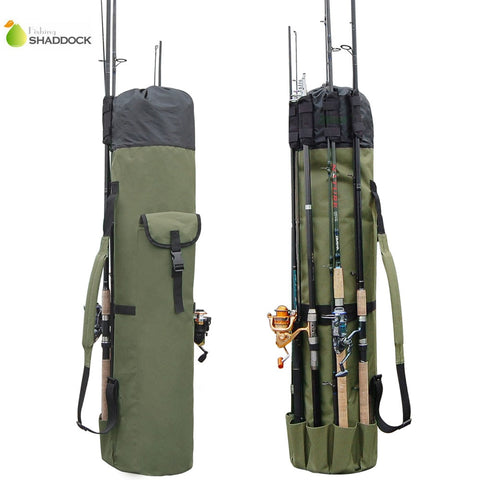 Hobby Ola Portable Multifunction Nylon Fishing Rod Bag Fishing Tackle Case Fishing Tools Storage Bag - hobbyola