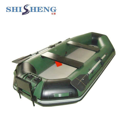 4 Persons Fishing  Inflatable Boat Set Durable Customized Slat Floor Boat - hobbyola
