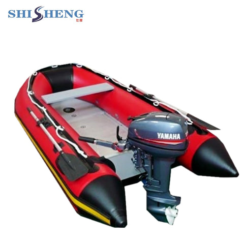 Sports Heavy Duty PVC Inflatable Racing Boat Customized Slat Floor - hobbyola