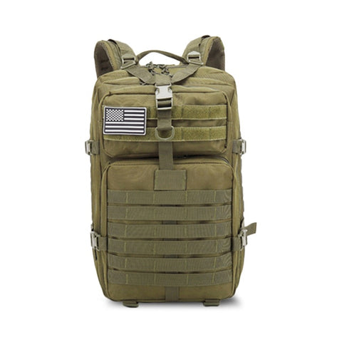 50L Military Backpacks For Men  Large Tactical Backpack Army Rucksack Multi-Function Daypack - hobbyola