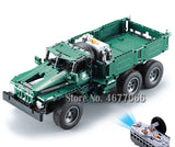 Building Block Toys RC Rocket Gungeon Truck Technic Car Army - hobbyola