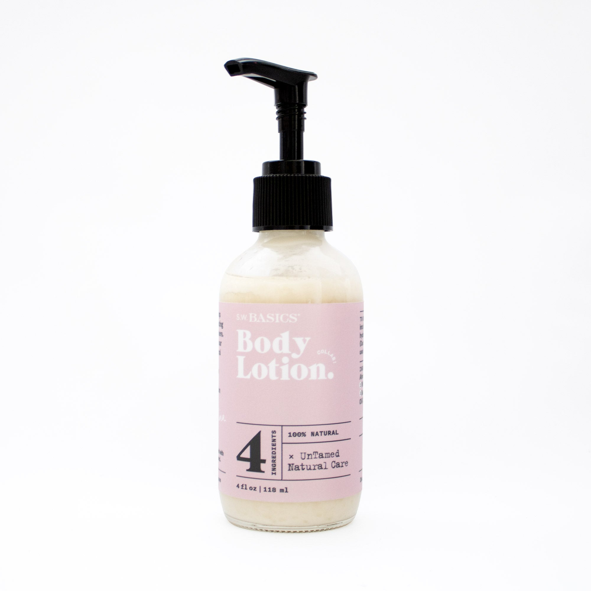 S.W. Basics x UnTamed Naturals Body Lotion
