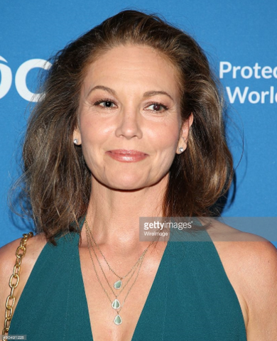 Diane Lane Wearing Marcia Moran Brent Necklace