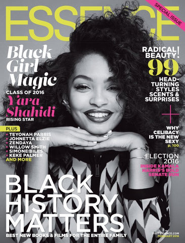 Yara Shahidi Wearing Estella and Gwen Bracelets on the Cover of Essence Magazine
