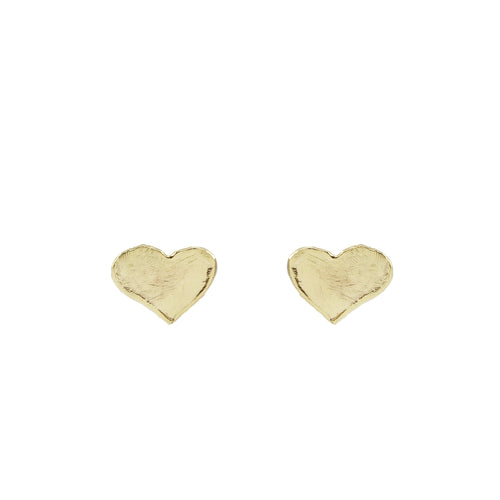 Klara Heart Stud Earrings