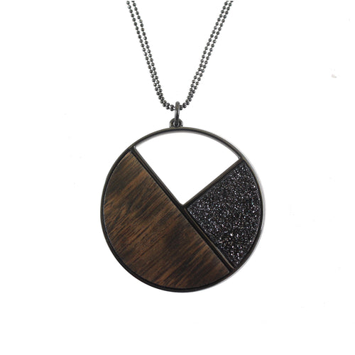 Camille Gunmetal Necklace