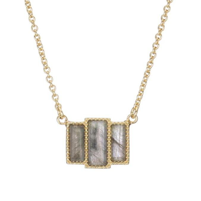 LEI RECTANGLES NECKLACE