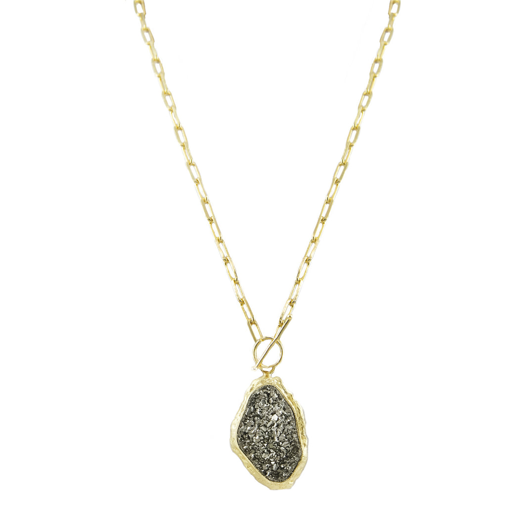 Makayla Druzy Necklace