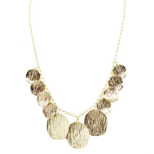 Lucille Bib Textured Necklace