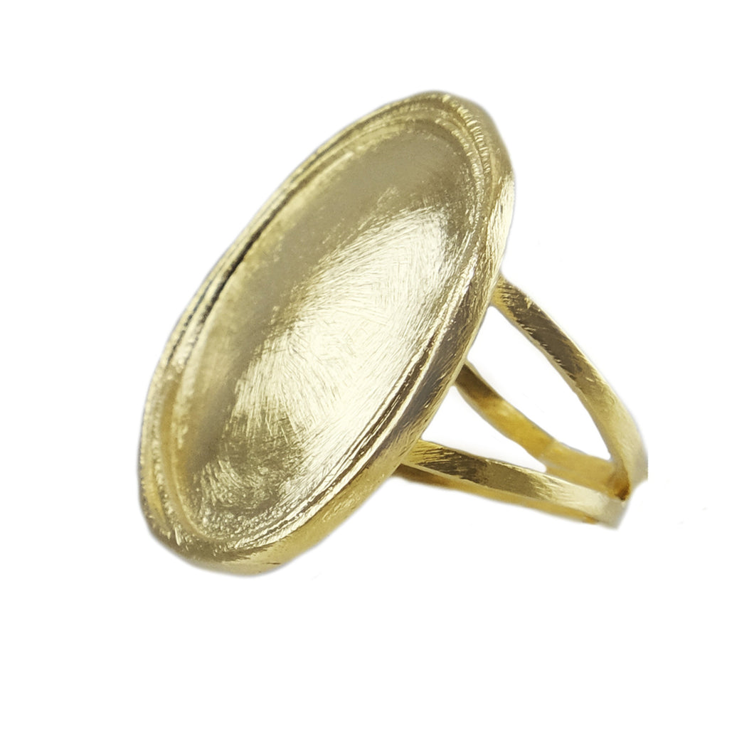 Sanya Round Statement Ring