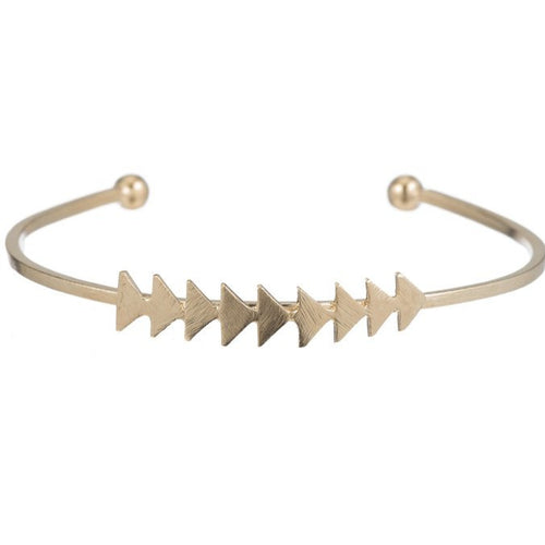 Jeannette Arrow Bangle