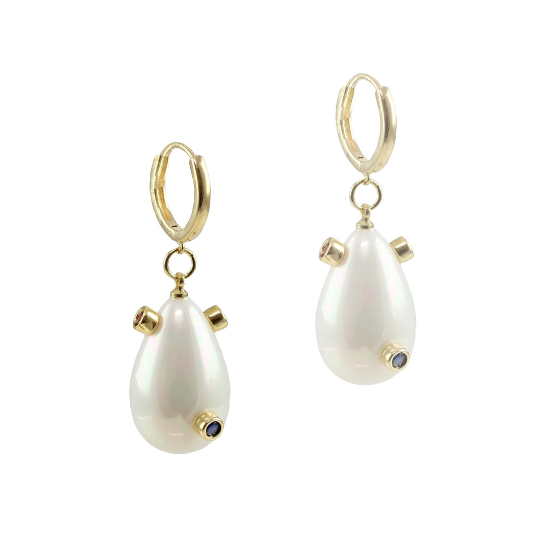 Pollie Pearl Drop Earrings