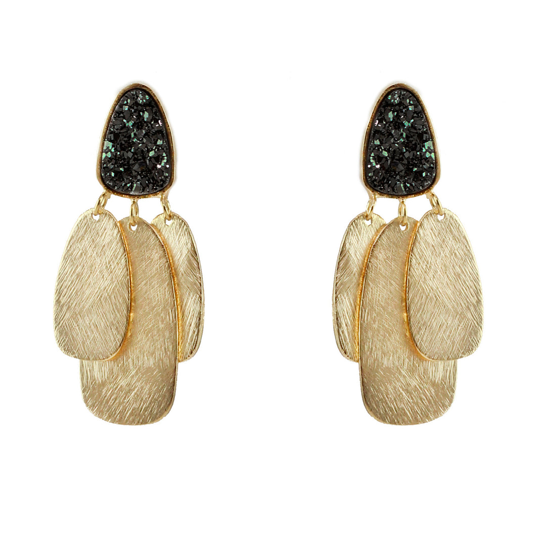 Kendal Druzy Earrings