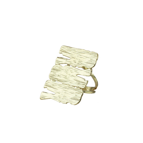 Manuela Statement Textured Ring