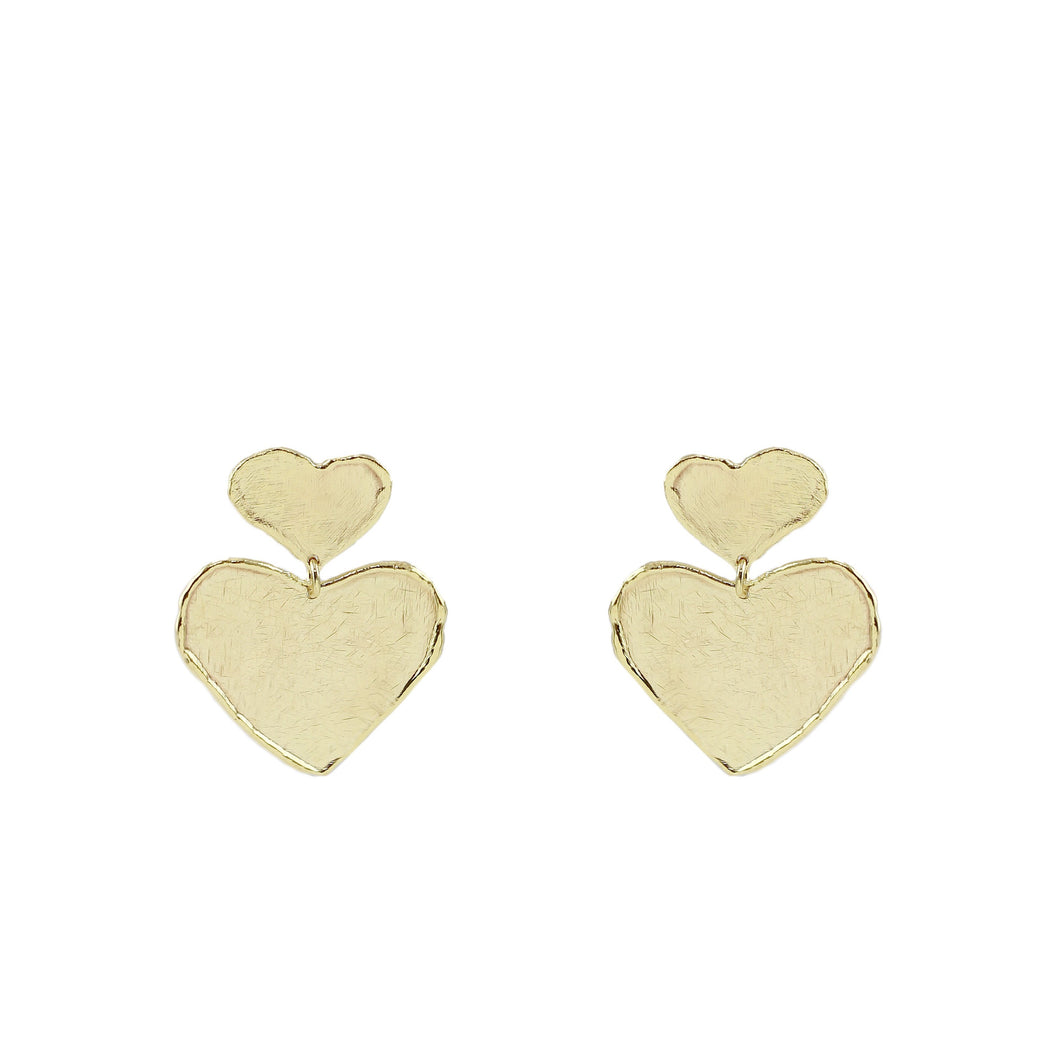 Kyoko Heart Earrings