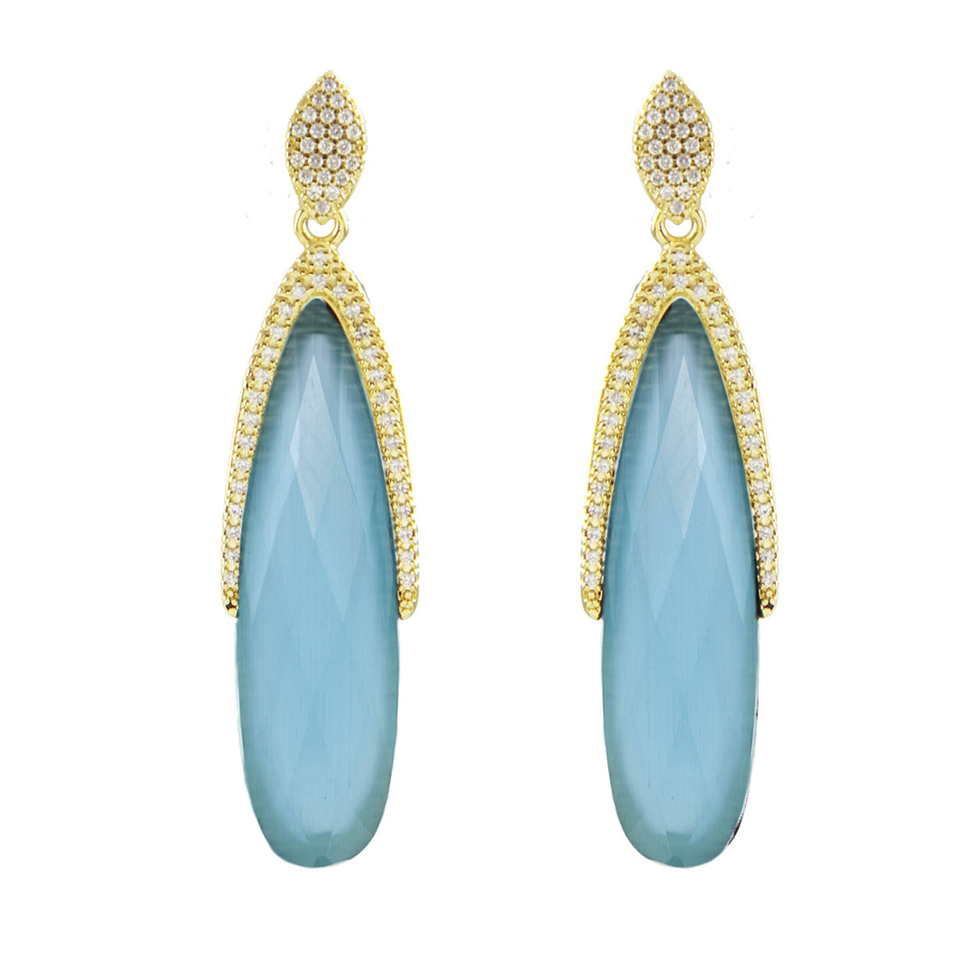 Hallie Marquise Earrings