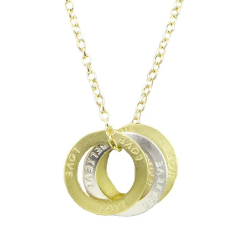 Colleen Ring Necklace