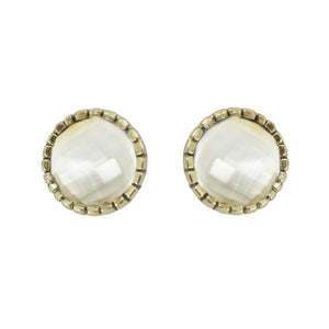 Romy Natural Stone Earrings Studs