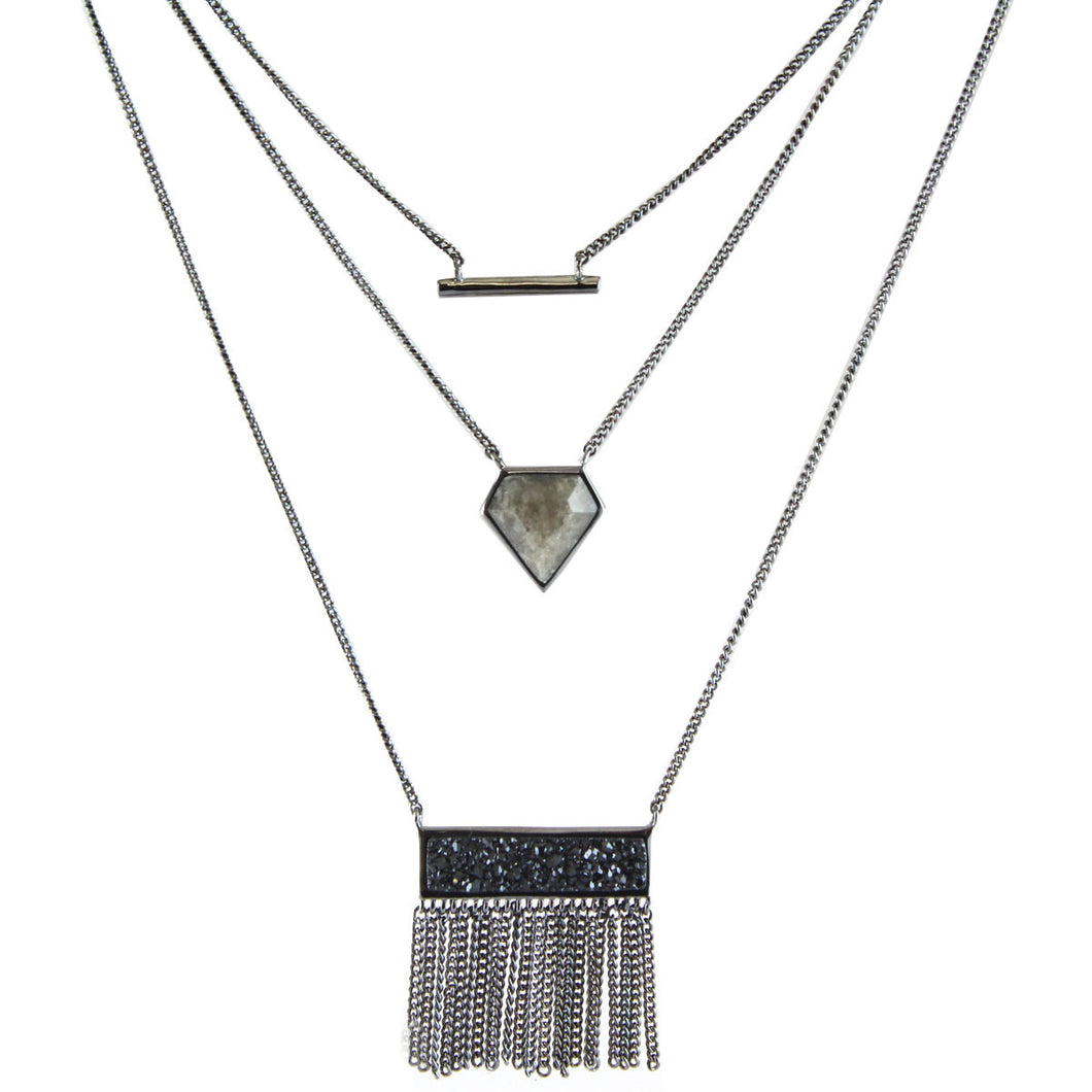 Ian Triple Layer Necklace