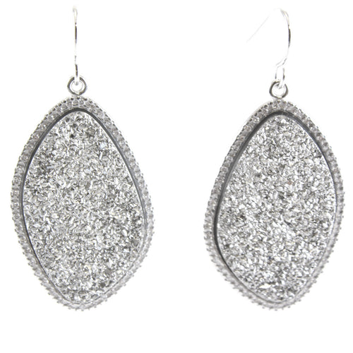 RAPHAEL MEDIUM STONE DROP EARRINGS